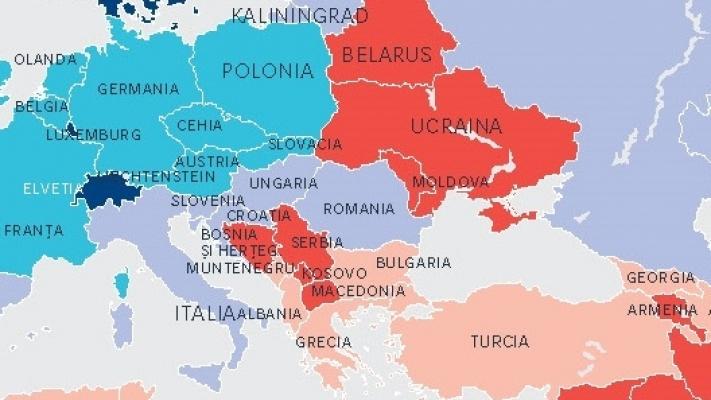 Cod Rosu La Graniţele Romaniei Harta Riscului Politic Pentru 2015