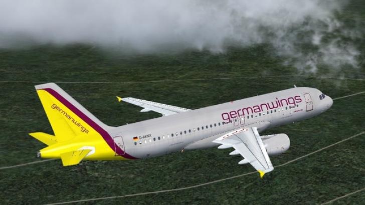 Avion prăbușit în Franța