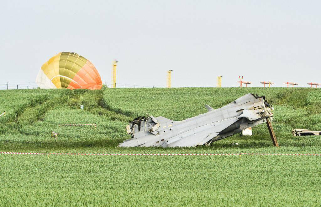 Un avion maghiar s-a prăbușit în Cehia