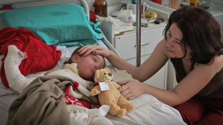 Fotografie1 - actiune SRPED al Spitalul Grigore Alexandrescu