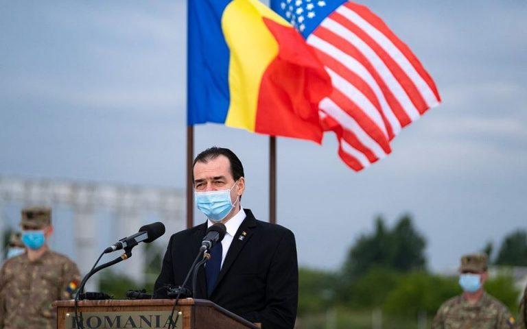Premierul Ludovic Orban, atac dur la adresa lui Dragnea și Tăriceanu, la Ambasada SUA: pentru boicotul lor din ultimii ani