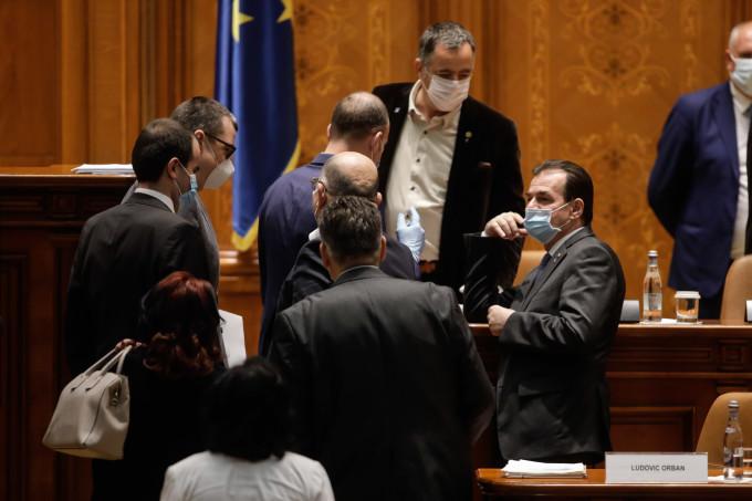 Guvernul condus de Ludovic Orban a găsit soluția să sară peste votul majoritații Parlamentarilor