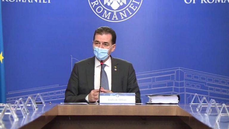 Ludovic Orban susține că mulți lideri politici instigă populația și neagă existența coronavirusului