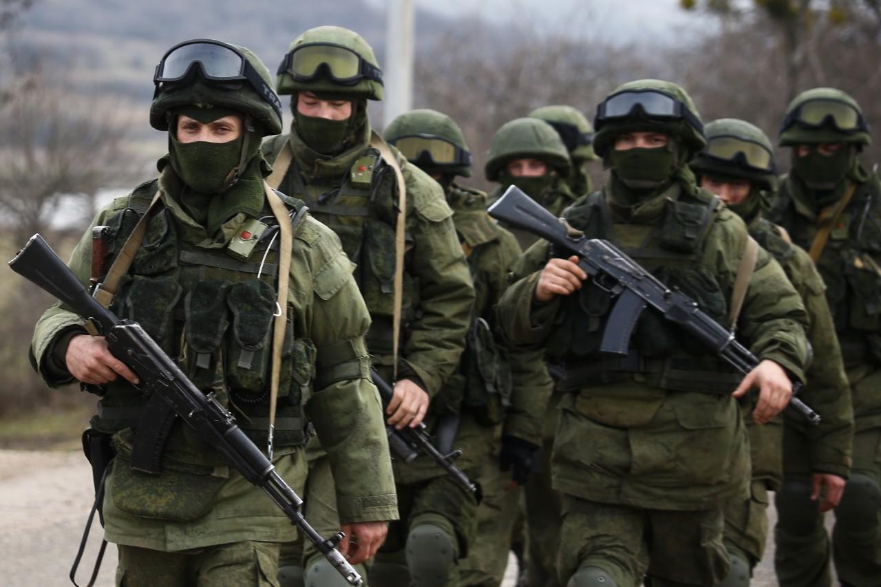 Rusii actioneaza discret