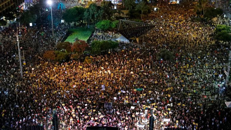Israelul, scena unor proteste, fată de modul în care guvernul gestionează criza economica, pe fondul pandemiei
