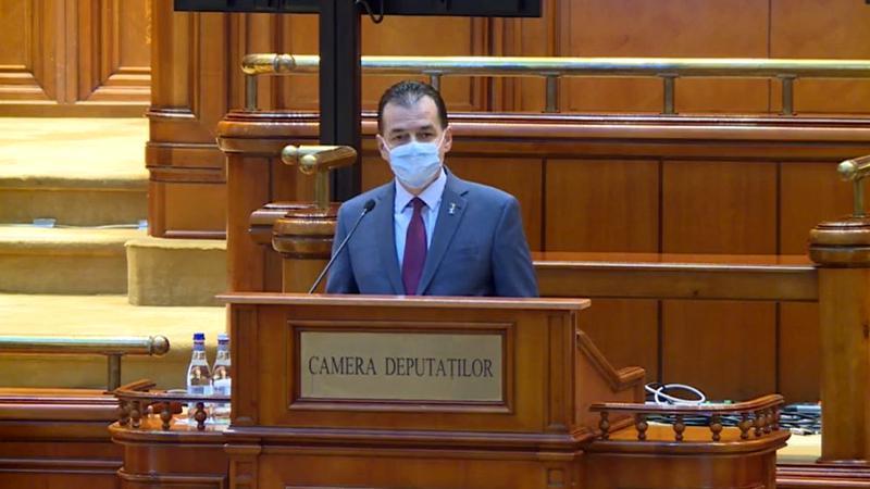 Ludovic Orban a dus în Parlament noile reguli