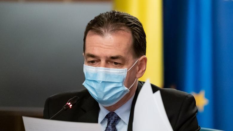 Premierul Ludovic Orban vine cu explicații: când și cum se va purta masca în aer liber