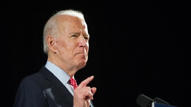 Joe Biden transmite