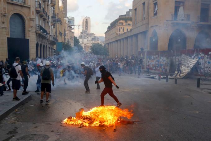 După amplele protestelor din Beirut