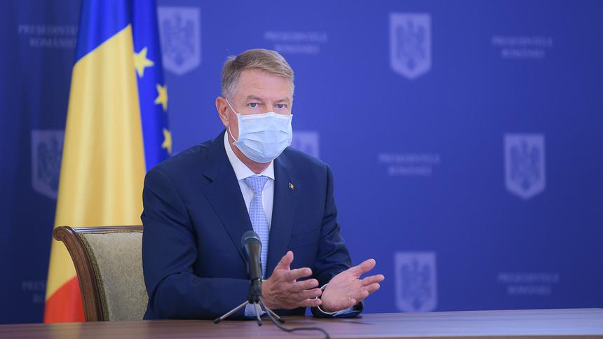 Klaus Iohannis despre moţiunea de cenzură