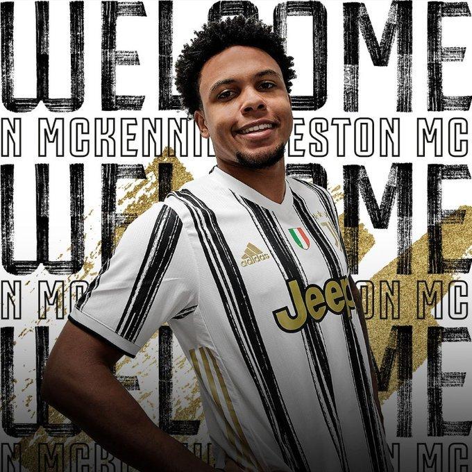 Juventus l-a împrumutat pe Weston McKennie, primul fotbalist american