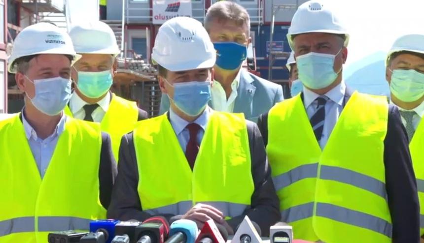 Premierul Ludovic Orban anunţă că Guvernul va aloca alte 25 milioane lei pentru construirea Aeroportului Internaţional Braşov - Ghimbav