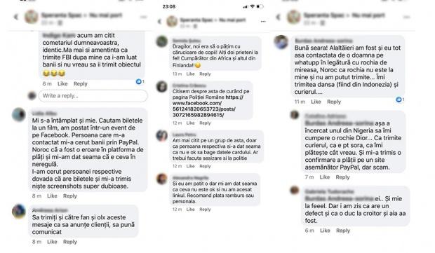 Atenție de câteva săptămâni, pe reţelele de socializare, zeci de persoane se plâng că au fost victimele escrocilor virtuali. Oamenii povestesc