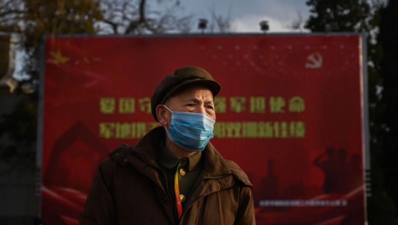 China a izolat un oraș