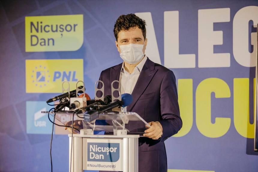 Candidatul Nicușor Dan