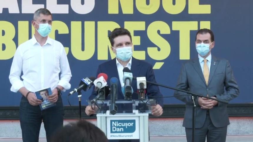 Liderii partidelor de dreapta au semnat susținerea lui Nicusor Dan la Primaria Capitalei