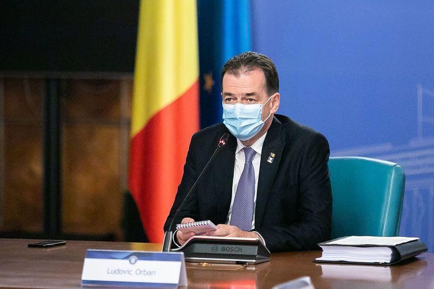 Ludovic Orban critică CCR pentru creșterea cazurilor de COVID