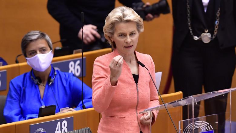 Ursula von der Leyen susține că Brexit-ul