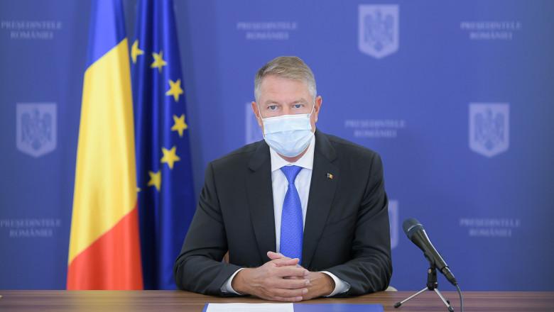 Iohannis a anunțat că intrăm în linie dreaptă pentru parlamentarele de pe 6 decembrie