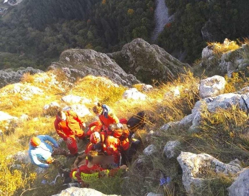 Lângă Cheile Turzii, un bărbat rănit grav după ce a căzut cu parapanta