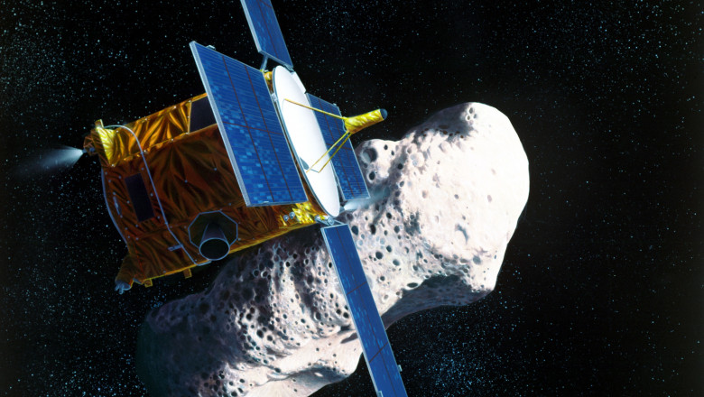 NASA anunță că s-a reușit colectarea unor probe de pe suprafața unui asteroid