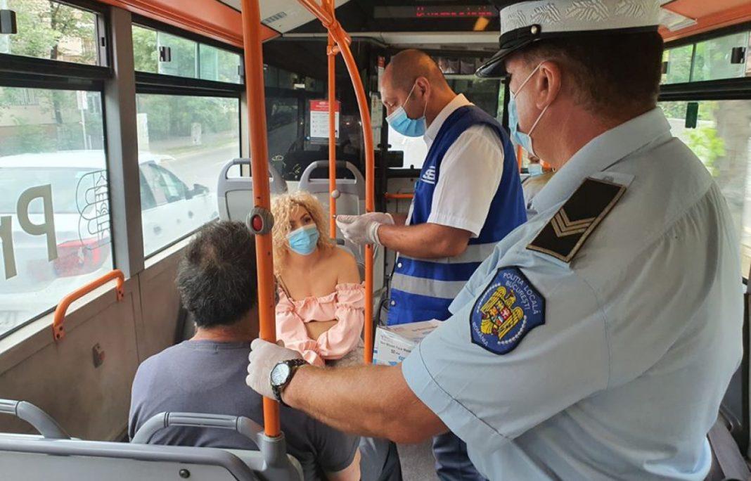 Deşi România înregistrează peste 4.000 de noi infectări cu COVID pe zi în trenuri, autobuze nu se portă masca