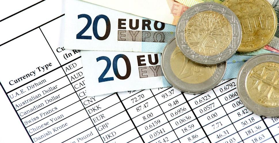 Curs valutar BNR: Leu s-a apreciat, în comparație cu moneda euro