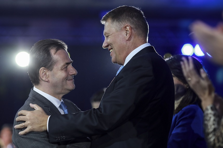 "Preşedintele Klaus Iohannis: ""Ludovic Orban rămâne prima variantă de premier"""