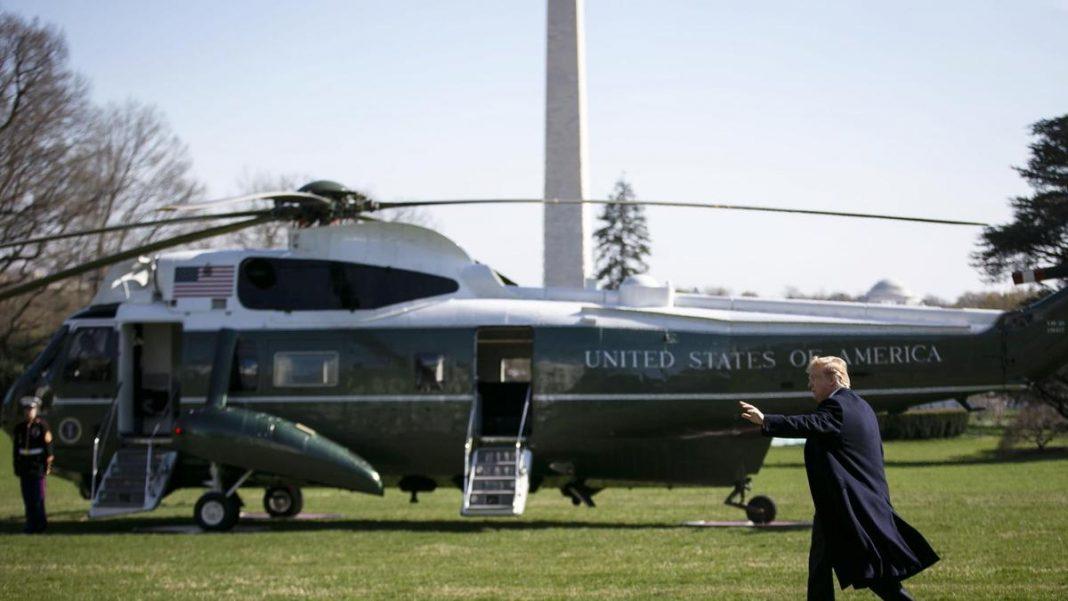 Trump, dus cu elicopterul, la spital, după ce a fost infectat cu COVID