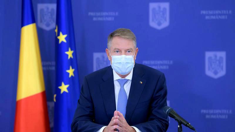 Klaus Iohannis a declarat că va reconstrui întreg sistemul sanitar