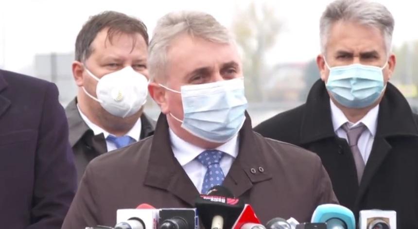Bode a declarat, la receptia lucrarilor DN5, București Adunatii Copaceni, că lucrările ar fi trebuit să fie gata de 4 ani
