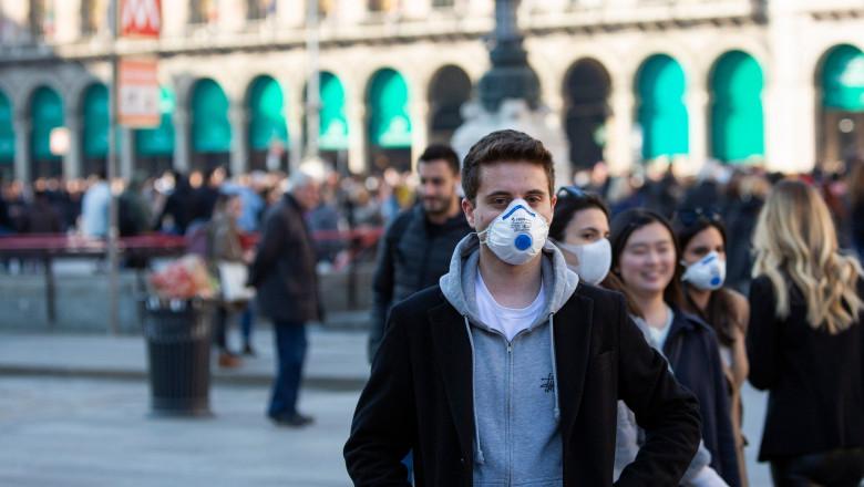 Italia a înregistrat de 6 ori mai mulți bolnavi de COVID
