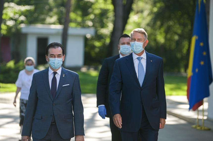 Iohannis și liderii liberali au discutat