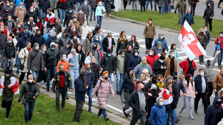 Belarus, noi manifestații