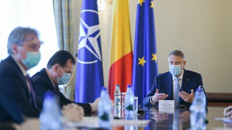 Iohannis, către delegaţia PNL