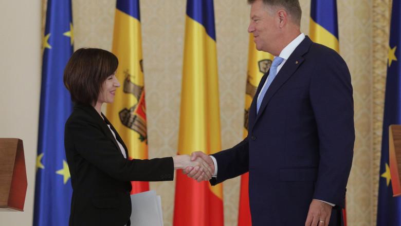 Iohannis, alături de alți 6 președinți din UE, au semnat pentru susținerea Maiei Sandu