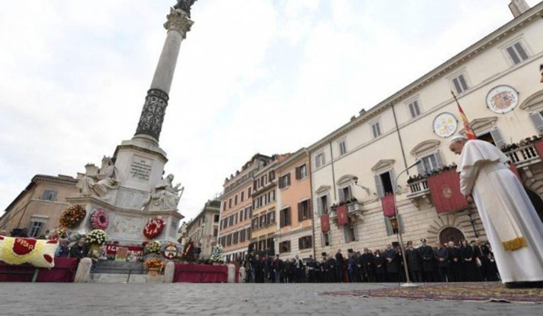 Papa Francis anulează pelerinajul, din centrul Romei, în contextul pandemiei