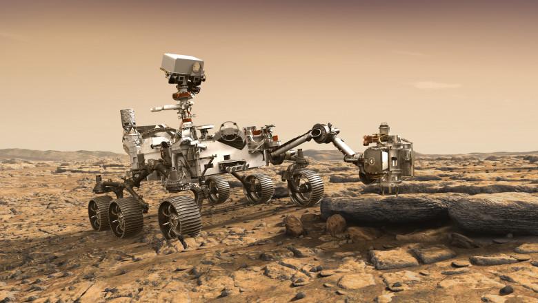 Roverul trimis de NASA
