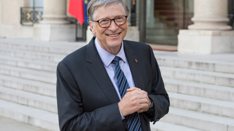 Miliardarul Bill Gates