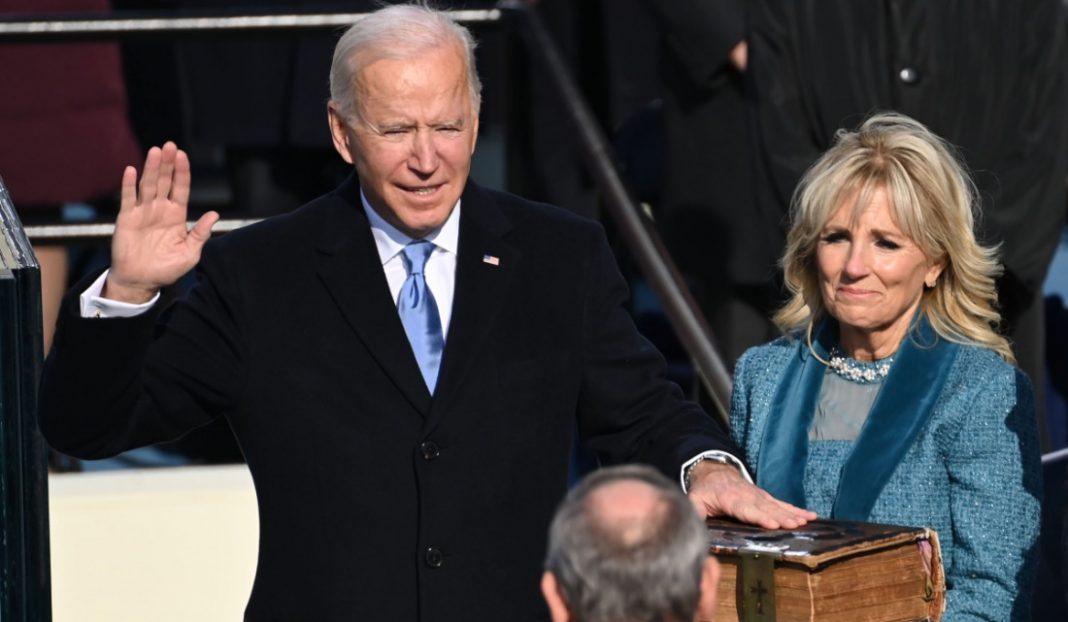 Joe Biden a făcut prima postare pe Twitter în calitate de președinte