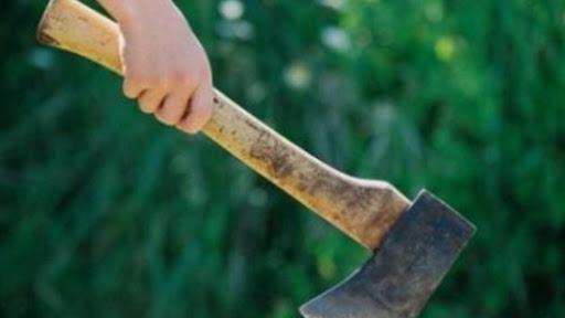 Pădurar, lovit în cap cu toporul de un bărbat care tăia lemne