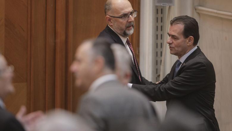 Ludovic Orban îl contrazice pe Kelemen Hunor: Impozitarea pensiilor speciale nu constituie o soluție