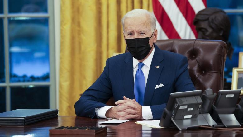 Joe Biden anunță că SUA nu mai sprijină campania saudită din Yemen