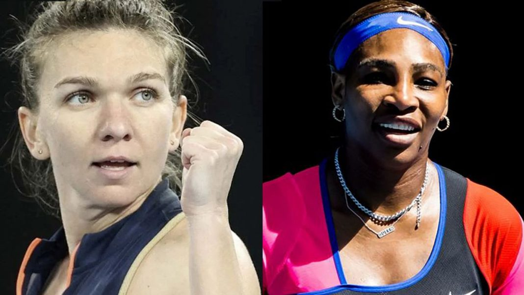 Simona Halep, meci greu cu Serena Williams
