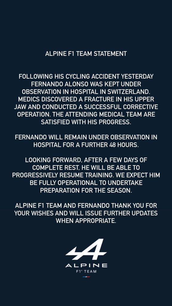 formula 1, alonso, accident