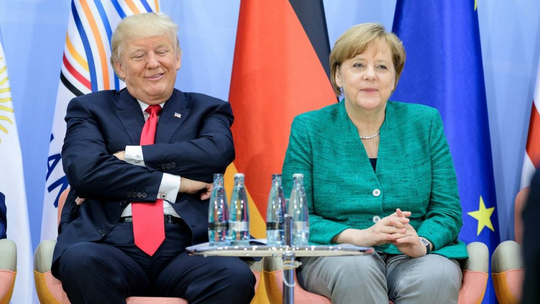 Angela Merkel a oferit SUA