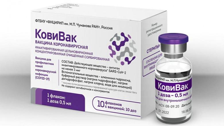 Rusia a dat undă verde unui al treilea vaccin anti COVID