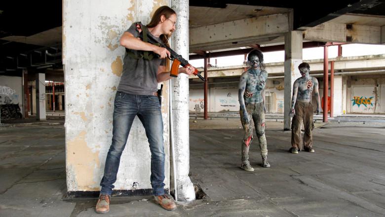 SUA îi invață pe americani cum să se pregătească pentru o eventuală apocalipsă...zombi
