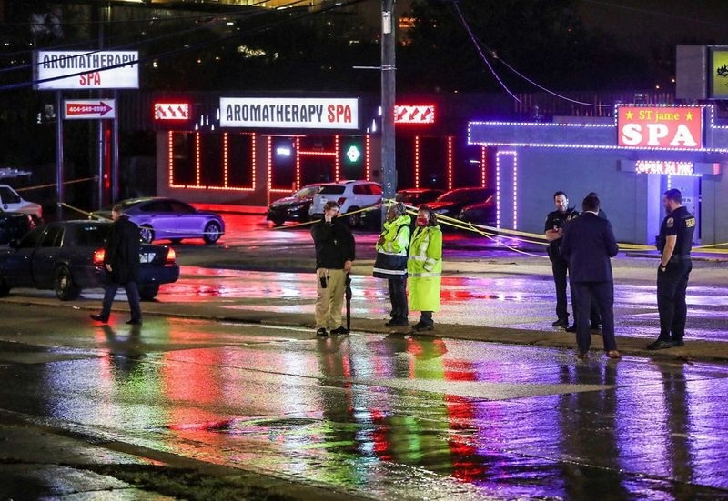 Atlanta, Opt persoane, ucise
