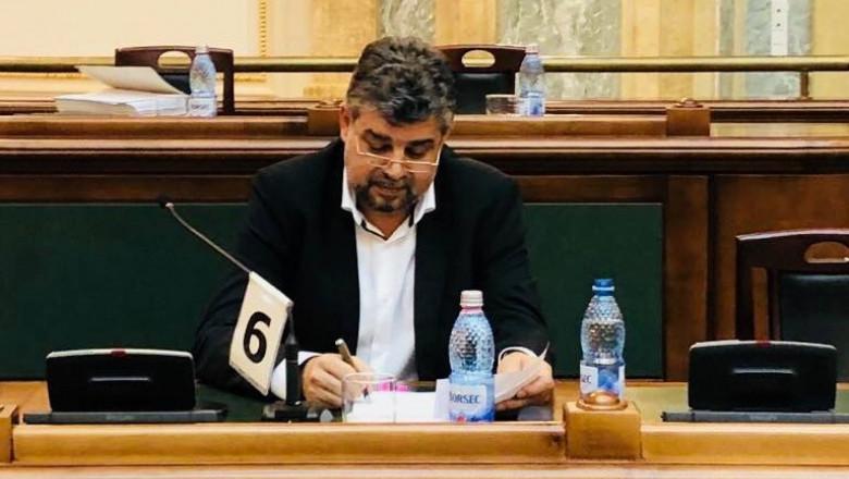 PSD va depune moțiune de cenzură împotriva Gvernului Cîțu